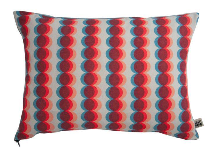 Circles - red by Kangan Arora