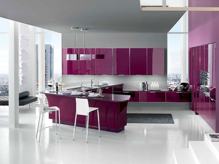 54 best Cucine Lube images on Pinterest   Colours, Cuisine design ...