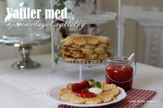 Norwegian waffles - so good ☆ from mye blog - goggle translation on my site
