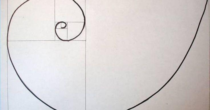 Cómo dibujar una espiral de Fibonacci. La espiral de Fibonacci es una figura hermosa que se encuentra en la naturaleza, por ejemplo, en la espiral de una concha de nautilus y en el centro de los girasoles. Esta figura sigue un patrón geométrico compuesto por el código de Fibonacci. Para construir dicha espiral, se emplean cuadrados con las dimensiones que aparecen en este código.
