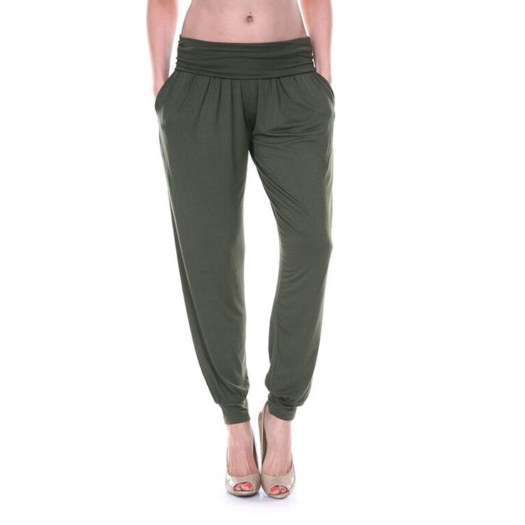 Excellent 67 Off Pants  SALE Military Green Jogger Pants  Cuffed Hems From