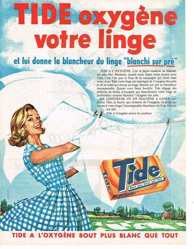 Le Tide... Publicite 1960 Tide Lessive EN Poudre | eBay