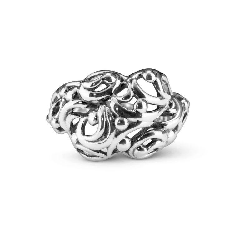 Carolyn Pollack Tango Sterling Silver Filigree Bold Ring 7 #CarolynPollack