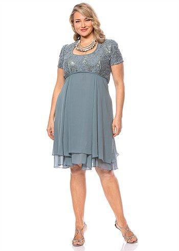 #Eplisse Geisha Dress #plussize #curvy #takingshape