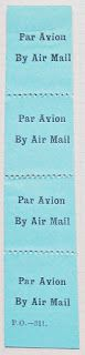 International Airmail And Priority Mail Labels: British Guiana: airmail labels 3