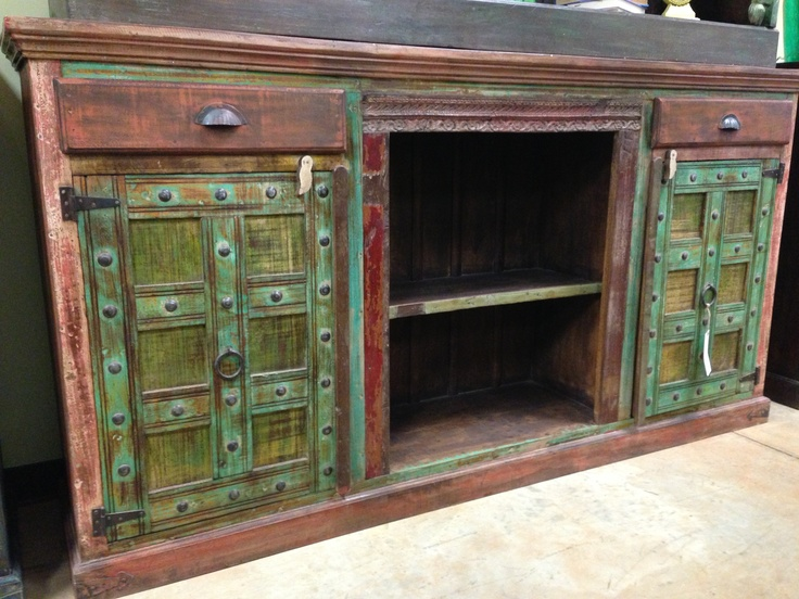 reclaimed wood media console buffet cabinet misc stuff pinterest reclaimed wood media console buffet cabinet and buffet - Reclaimed Wood Media Console