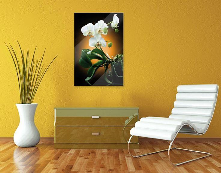 48 best Flower Power images on Pinterest Flower power, Wall - glasbilder für badezimmer