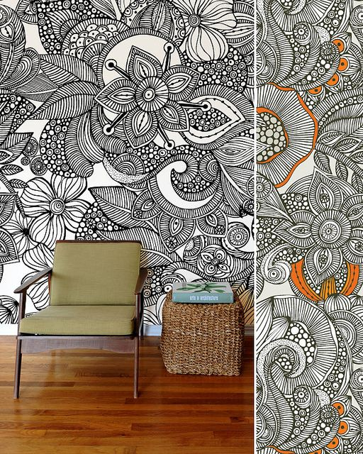 zentangle wall - Buscar con Google