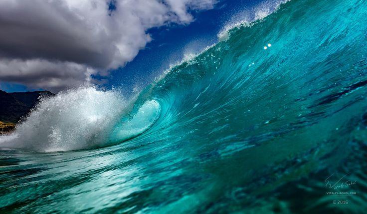 "Rip Curl #2 - Rip Curl  From ""Conquerors of Waves"" album Из альбома ""Покорители волн"" Гавайи, остров Оаху, 2016 Hawaii, Oahu island Photographer - Will Falcon © Виталий Сокол Waves for print: http://www.shutterstock.com/sets/120403-waves.html  Приятных мыслей в процессе созерцания!  #water #oсean #hawaii #willfalcon #pipeline #hipipeline #oahu"
