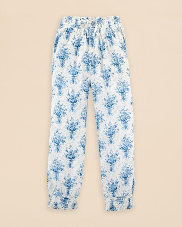 Ralph Lauren Childrenswear Girls' Floral Pants - Sizes 2-6X