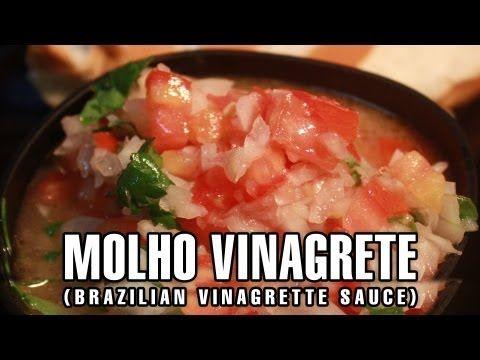 RECEITA DE MOLHO VINAGRETE - CHURRASCO
