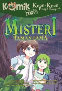 Misteri Taman Lama; komik KKPK