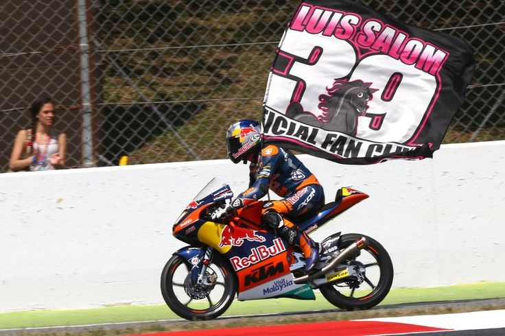 Brad Binder and Red Bull KTM Ajo pay tribute