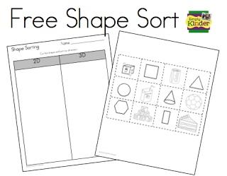 34 best Preschool Shape Worksheets images on Pinterest