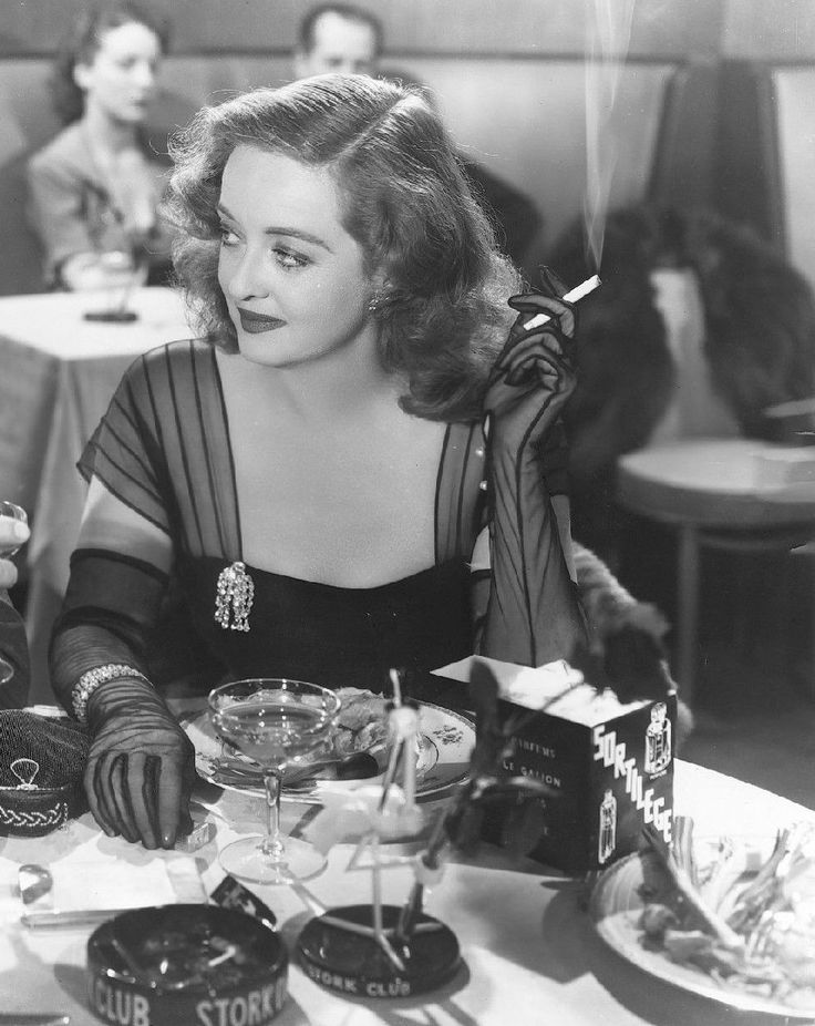 Bette Davis in All About Eve (Joseph L. Mankiewicz, 1950)