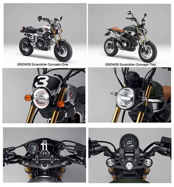 Custom 2016 Honda Grom Scrambler Concept One & Two | Motorcycle Pictures | Honda-Pro Kevin