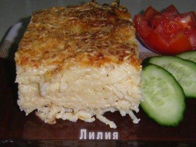 Пастицио по-деревенски : Кухня греческая и не только