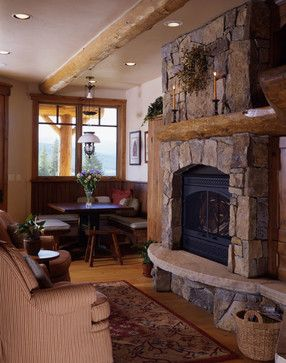Marvelous Moss Rock Fireplace | Moss Rock Fireplace Design Ideas, Pictures, Remodel,  And Decor