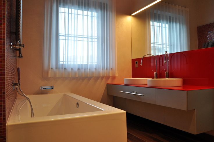 Nuova edificazione villa unifamiliare - Bagno ragazzi - Maria Teresa Azzola Designer - Gorlago (BG) 2014