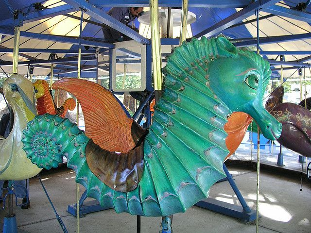 King Neptunes Carousel from Happy Hallow | Flickr - Photo Sharing!