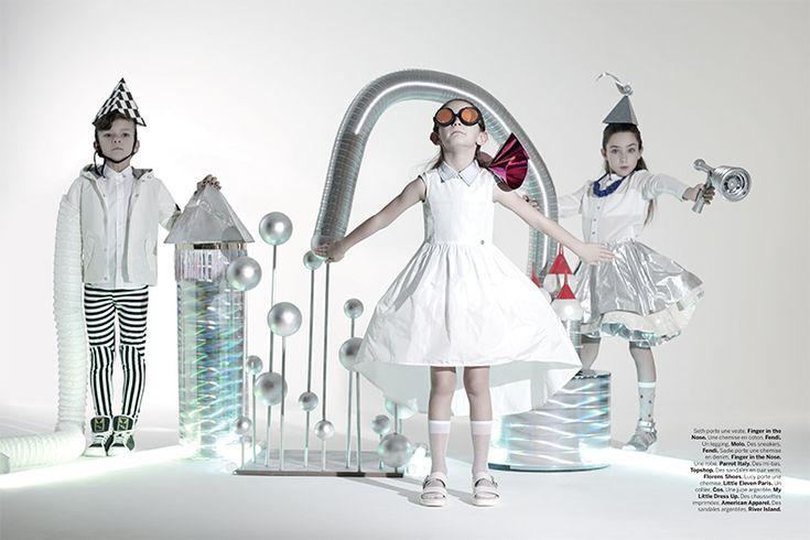'Space Opera' for Milk Magazine - Helen Macintyre - Caren