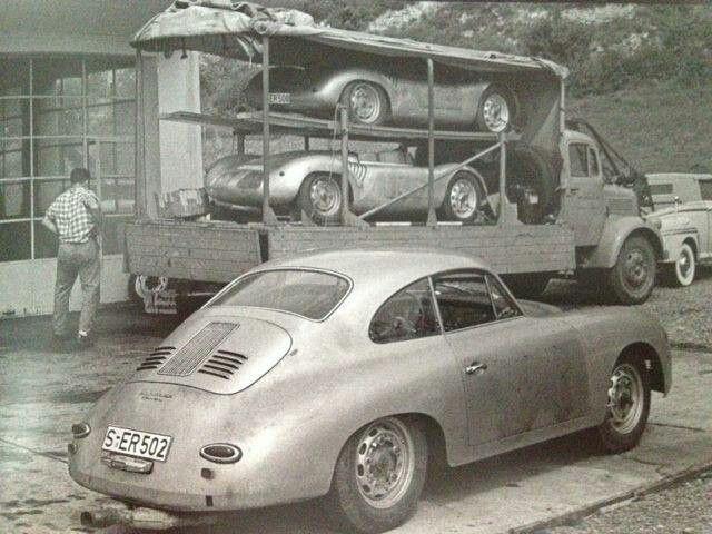 356 & 550 Porsche