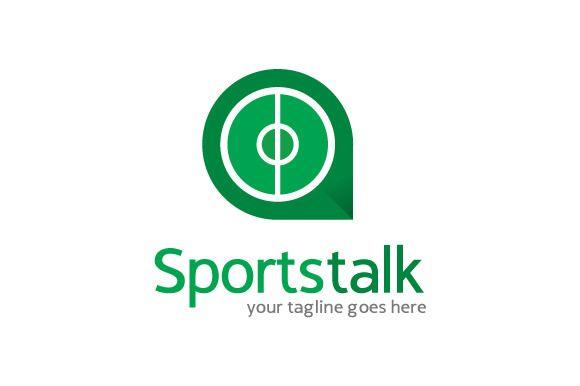 Sports Talk/ Forum/ Community Logo by gunaonedesign on Creative Market