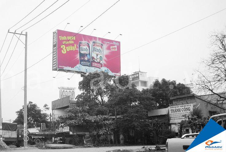 Bảng quảng cáo Birdy - Xa lộ Hà Nội