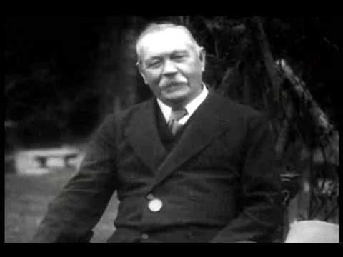 The Only Footage We Have Of Arthur Conan Doyle Talking About Sherlock -- http://io9.com/the-only-footage-we-have-of-arthur-conan-doyle-talking-1590106971