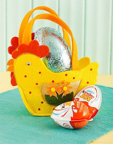 46 best easter eggs and gift hampers images on pinterest easter easter chicken basket with eggs negle Gallery