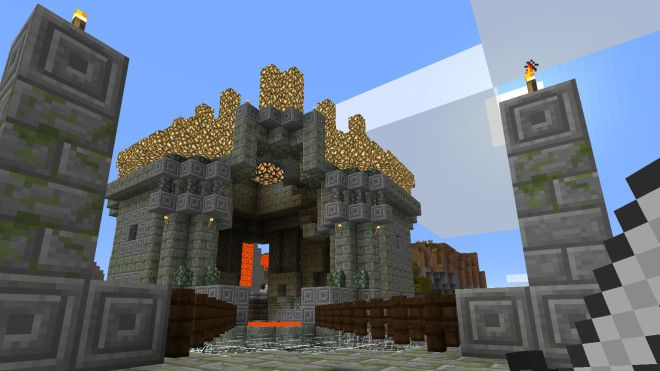 Minecraft in Oculus Rift Lets You Live Your Blocky Fantasies