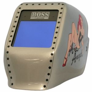 Jackson Welding Helmet - Arc Angel BOSS EQC Auto Dark Lens 24041
