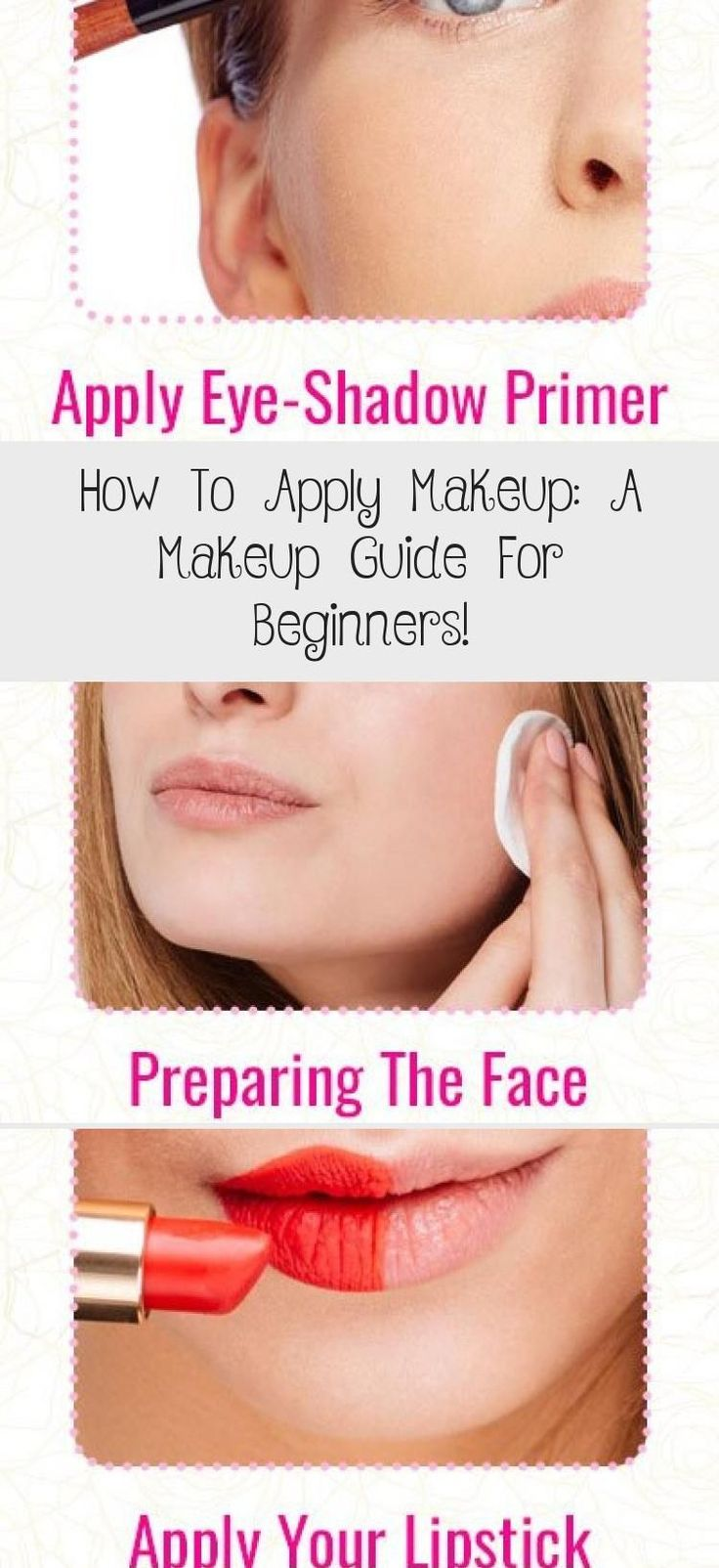 HowToApplyMakeup A Makeup Guide For Beginners!