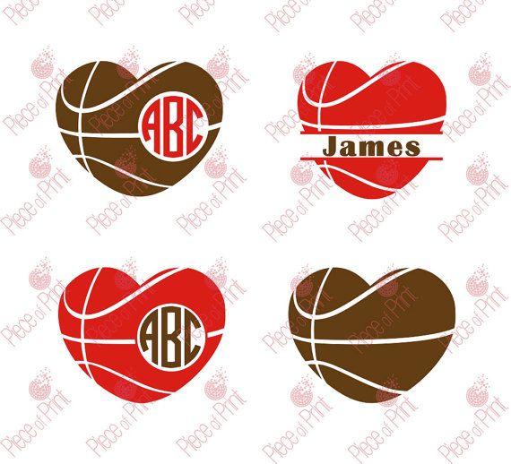Basketball SVG Cut Files Ball svg cut files for by pieceofprint
