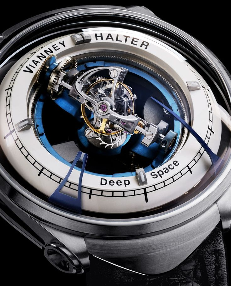 Vianney Halter Deep Space (9) Tourbillon Watch Is Trekkies Wet Dream watch releases