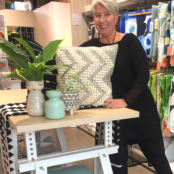 Staff pick of the week! Catherine from the beautiful Newmarket Auckland store has chosen the NEW Miss Jones vases & textured cushion. Perfect in any living room or bedroom. Team with soft grey's & duck egg blue for a calming vibe💙 What would you pick from us for your home?? Remember to tag @boltofcloth in your purchases 👍