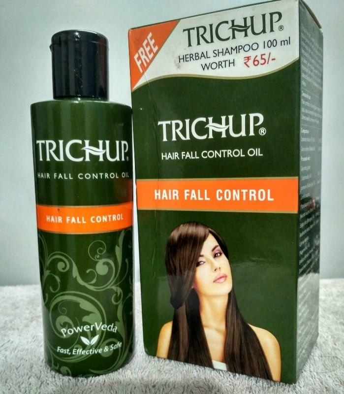 Trichup Oil : Hair Fall Control Oil https://www.glossypolish.com/trichup-oil-hair-fall-control-oil/#trichupoil @TrichupHairCare