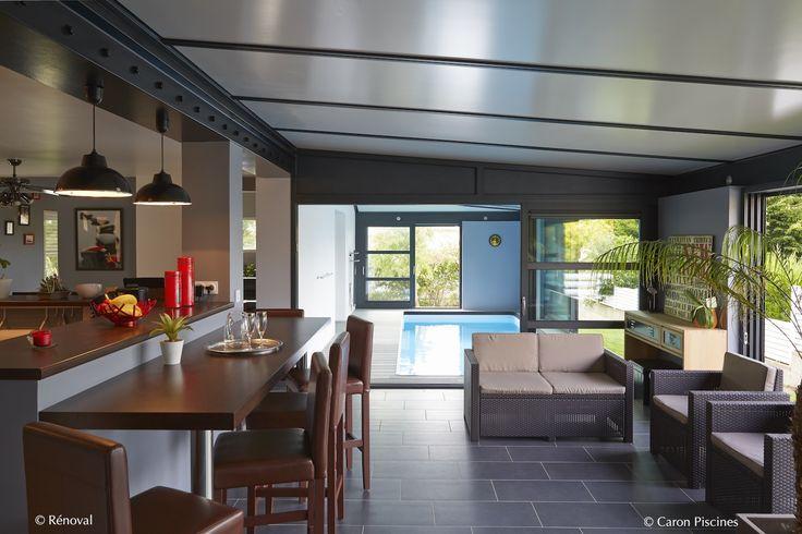 Piscine interieur couverte caron architecte renoval for Chevreuse piscine