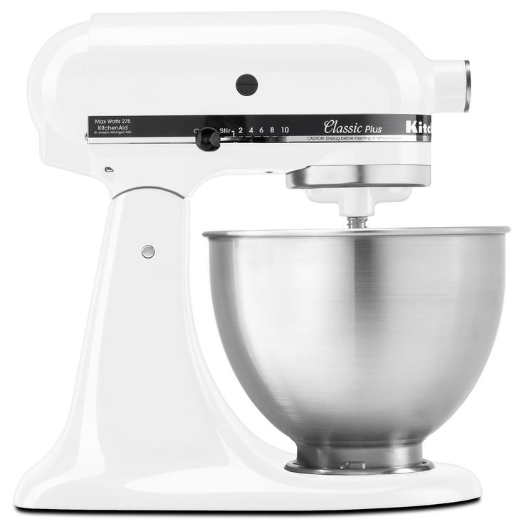 kitchenaid stand mixer sale. kitchenaid ksm75wh white 4.5-quart classic tilt-head stand mixer with $20 rebate ( kitchenaid sale r