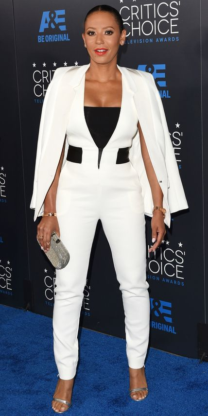 See All the Best Looks from the 2015 Critics' Choice TV Awards - Melanie Brown from #InStyle