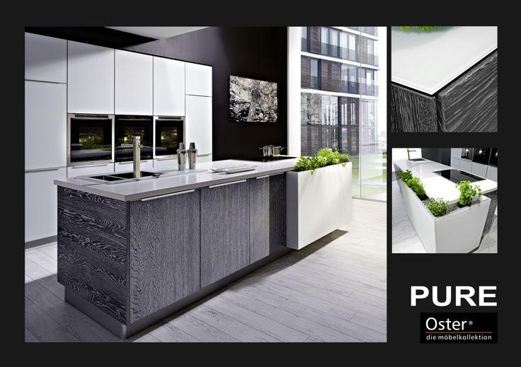Küche Glasfront - Oster Möbelkollektion GmbH