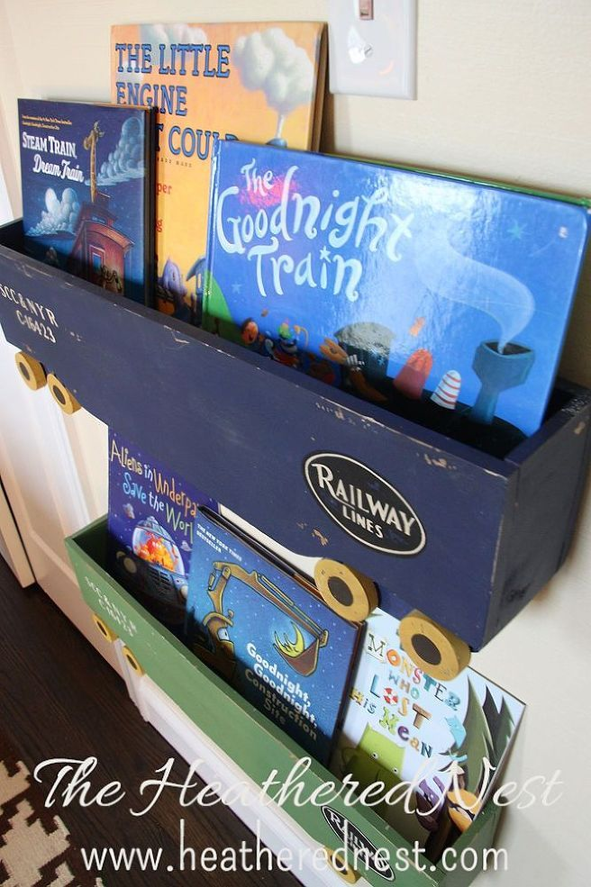 Train Themed Boy's Room :: Hometalk