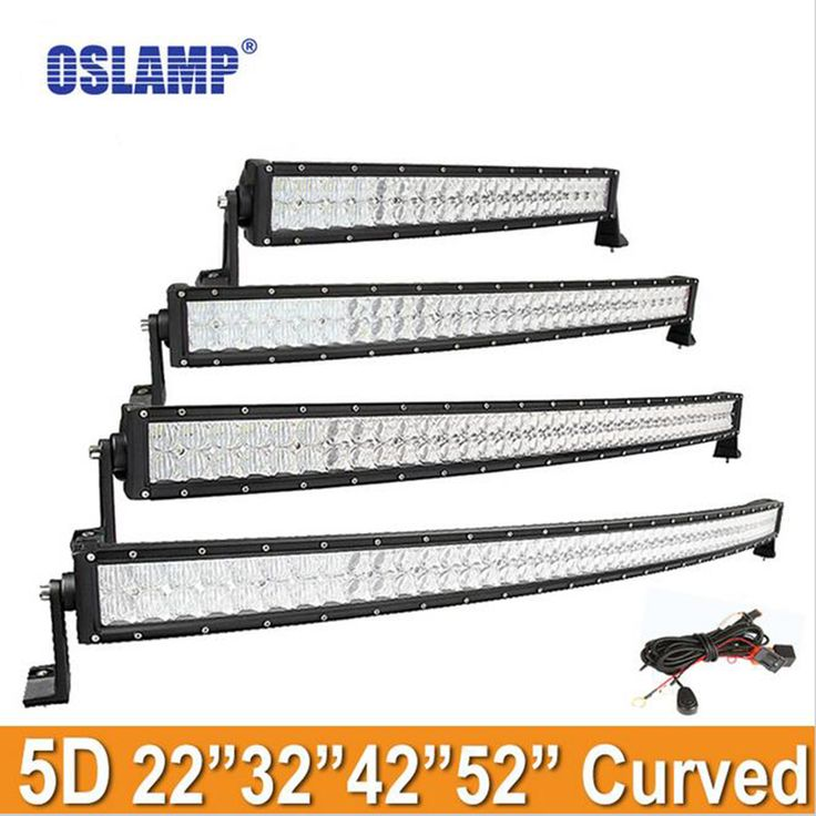 "==> [Free Shipping] Buy Best Oslamp 42"" 22"" 32"" 50"" 52"" Cree Chips Curved LED Light Bar Offroad Combo 5D Led Bar For Toyota/PickUp/Truck Led Work Light Bar Online with LOWEST Price 