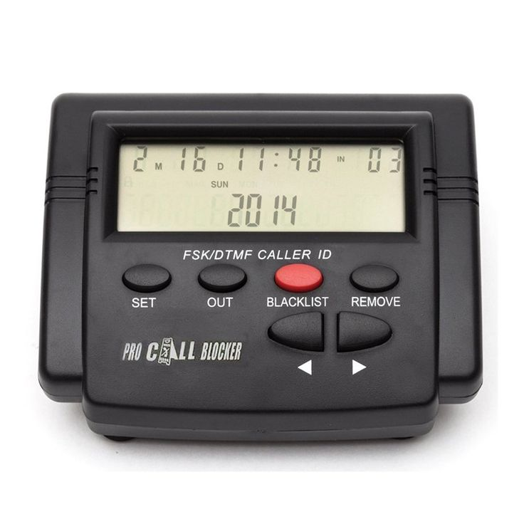 Cheeta Мощный Многофункциональный Call Blocker С Call ID Дисплей, 1500 Цифры, Очистных Все Холодные Звонки