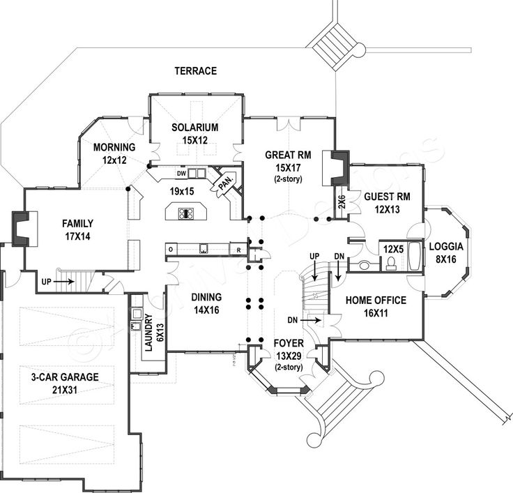 Best 25 4000 sq ft house plans ideas on pinterest one for 4000 sq ft modular homes