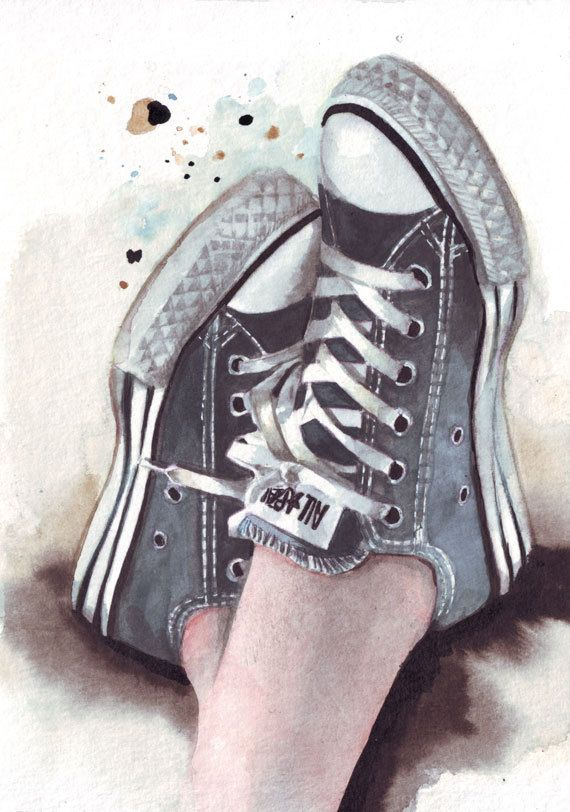 http://etsy.me/1zi6Wbt Blue All Stars #art #original #watercolor #painting #circle1 #Etsy