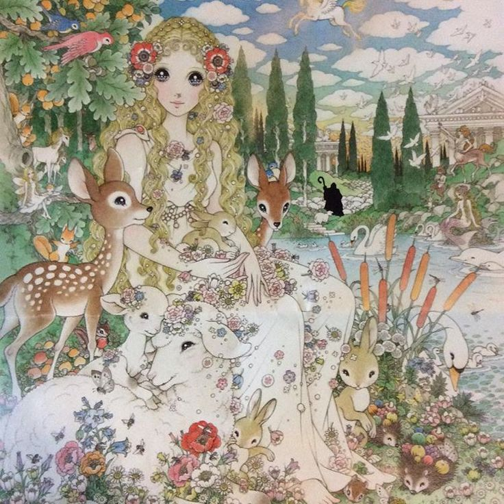 Macoto Takahashi-I love his art so much i can hardly express it. I especially love the way he does the hair, eyes, flowers , lace --- no, I love the way he does everything.