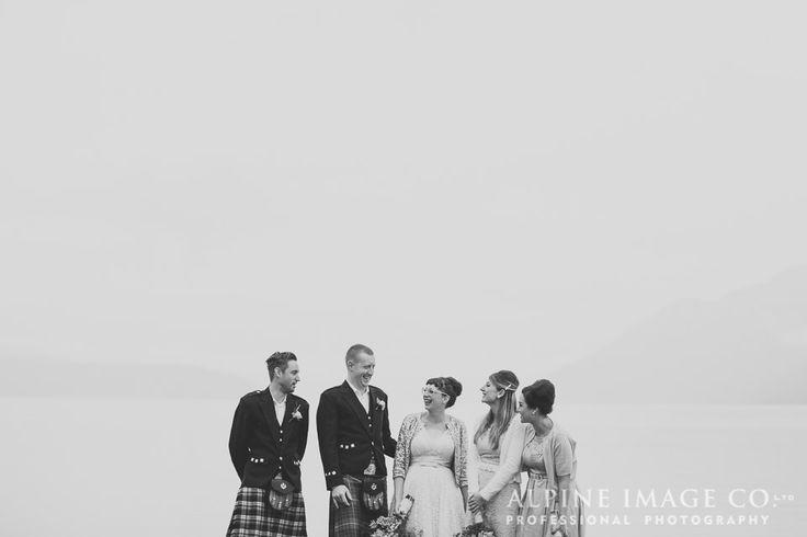 Bridal Party - Wanaka Wedding Photography by Alpine Image Company