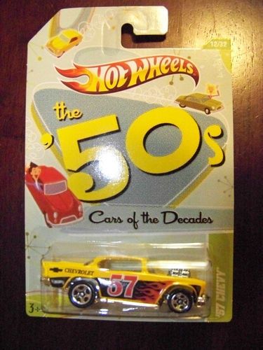 2012 HotWheels Cars Of The Decades '57 Chevy