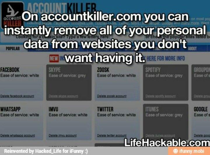 Account killer.com